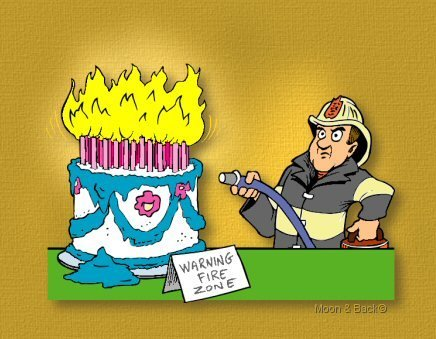 Happy Birthday Fire Jpg 436x339 Firemen Putting Out Candles