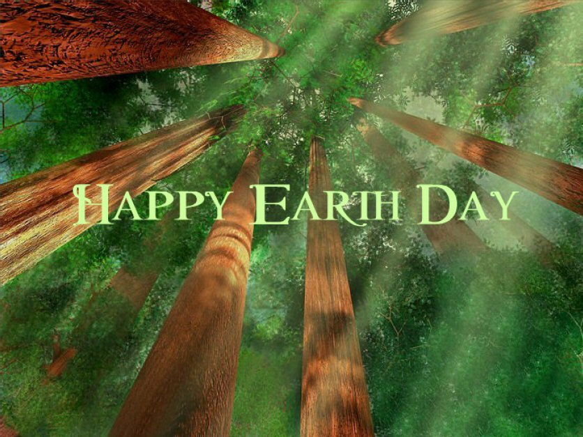 Happy Earth Day Wishes Card from Llerrah Ecards