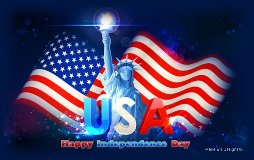 July 4th Independence Day Fireworks Video Card From Llerrah Ecards