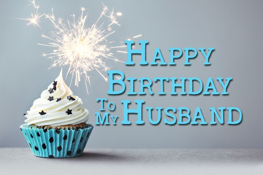 Happy Birthday to my Husband – Birthday Card for My Husband