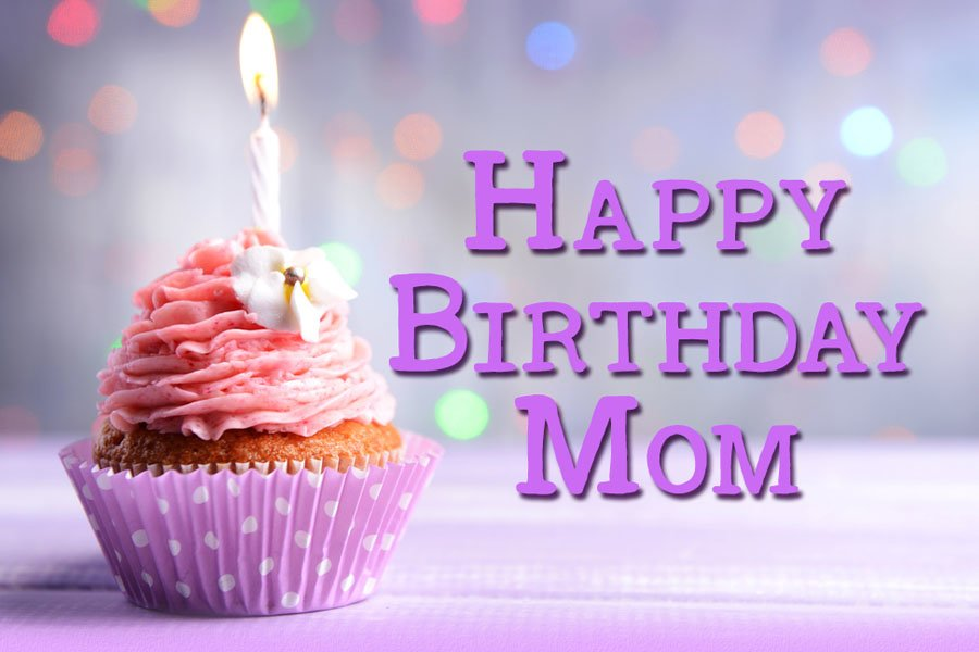 Happy Birthday Wishes For Mom Card form Llerrah Ecards