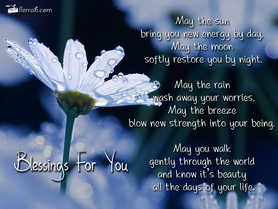 Blessings For You