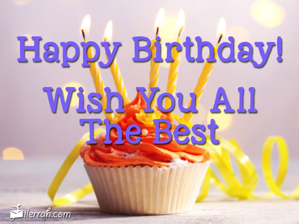 Brilliant Wish You All The Best Personalised Birthday Cards Bromeletsinfo