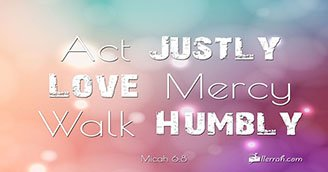 Act Justly