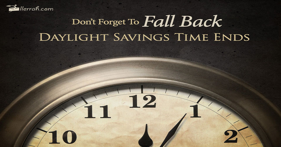 Don't Forget to Fall Back!