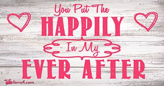 Happily Ever After (Postcard)