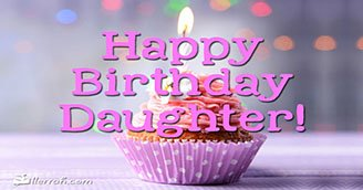 Happy Birthday Daughter!