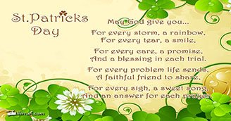 Irish Prayer (Postcard)