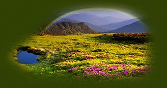 Irish Rainbow  of Blessings