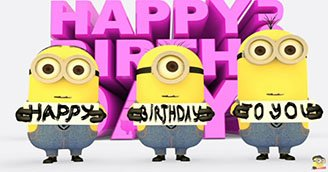 Minions Happy Birthday to You