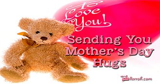 Mother's Day Hugs (Postcard)
