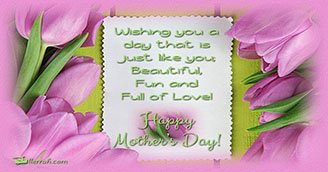 Mother's Day Wishes (Postcard)