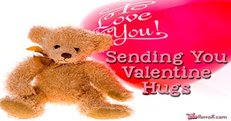 Sending You Valentine Hugs