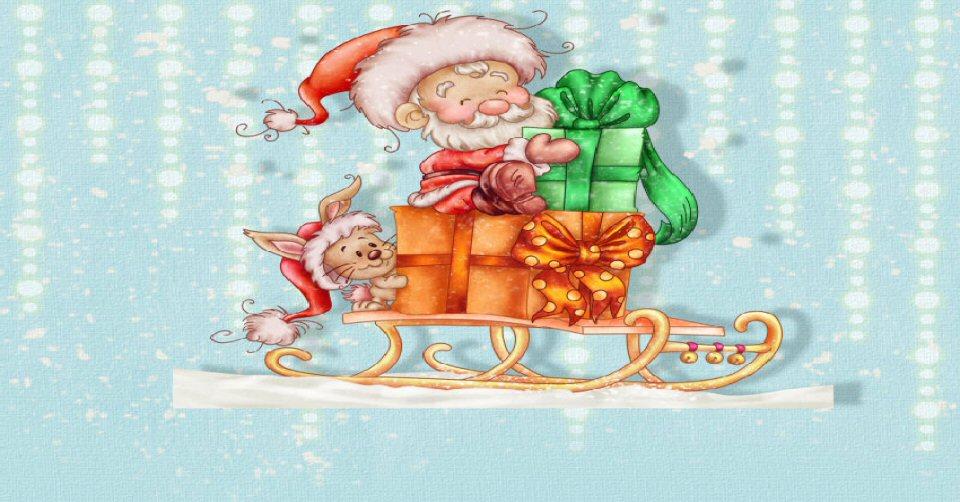 The spirit of santa claus