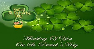 Thinking of You on St Patricks Day