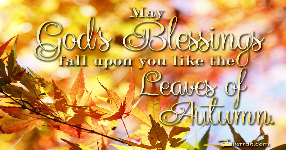 Image result for fall blessings